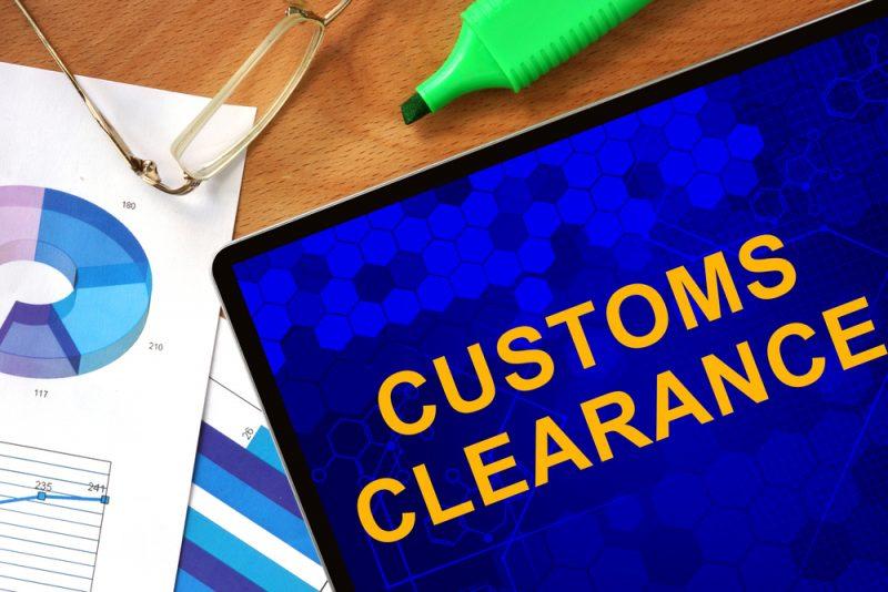 customs clearance-customs broker