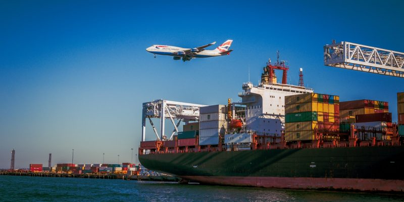 Airplane and Cargo Ship | Customs Clearance World