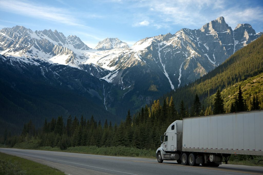 Truck in Mountains | Customs Clearance World